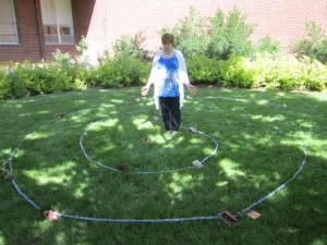 Double Spiral Labyrinth at Shalom Prayer Center
